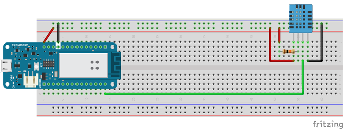 DHT11 ARDUINO MKR1000