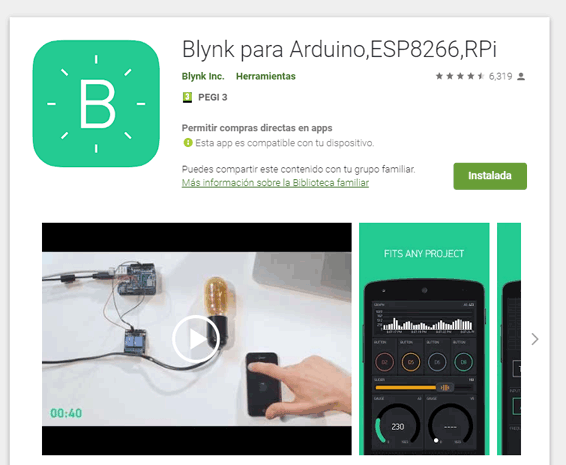 blynk app android