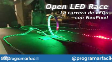 open led race